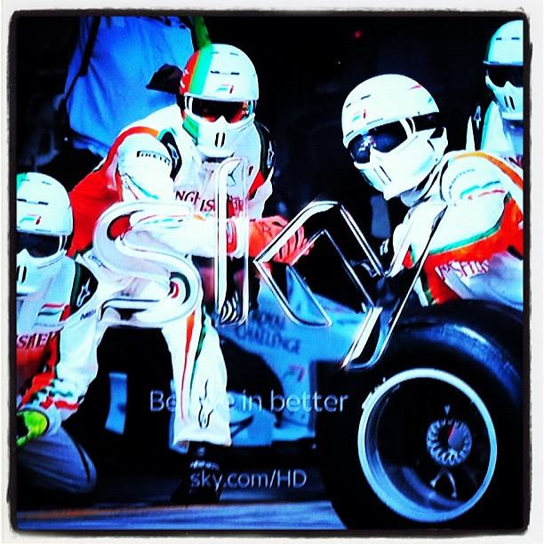 F1 HD on Sky