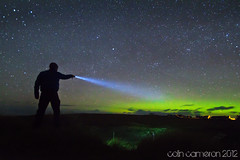 80/366 - Torchlight Aurora (Colin Cameron ~ Photography ~) Tags: longexposure lightpainting green beach stars scotland bright torch aurora flashlight glowing ness northernlights isleoflewis lenser eoropie auroraborialis colincameron canon7d lightjunkies tamron1024mm blinkagain