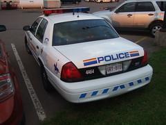 RCMP/GRC 4A64 (Canadian_police_car) Tags: new canada ford car district 4 police brunswick cap taylor area moncton rcmp interceptor grc pel 4a64