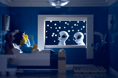 Don't Wake Up (powerpig) Tags: child lego alien ufo bedtime nightmare abduction moc