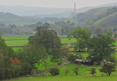 Cementing conditions for a nice view (Dazzygidds) Tags: misty hope derbyshire hazy nationaltrust drystonewalls bigtrees darkpeak peakdistrictnationalpark castleton winnatspass hopevalley peverilcastle littletrees greenhues cementworks hopevalleycementworks