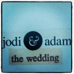 jodi & adam: the wedding #congratulations