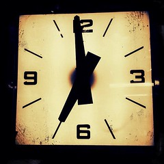 Clock @ Olde Good Things (navema) Tags: nyc ny clock vintage square time manhattan squareformat unionsquare vintageclock oldegoodthings navema iphoneography instagramapp uploaded:by=instagram foursquare:venue=4ac8d7c2f964a520d1bc20e3