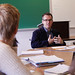 Professor Kevin Seidel, Intro to Literary Theory class