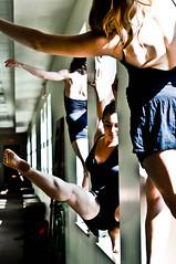 Hallway Trio (thescienceofcolor) Tags: ballet modern project dance ballerina dancers dancer pointe dancerproject