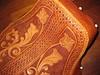 Leather Craft - La Pera update.. (Marius Mellebye / 276ccm) Tags: flowers floral leather chopper seat harley motorcycle custom davidson sheridan scroll handcraft leatherwork lacing mariusmellebye leathercraft 276ccm barrykingtools craftool
