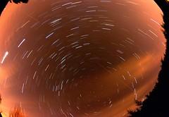 1st go at a startrail ... (www.MatthewHampshire.com) Tags: light night dark stars shootingstars til startrail