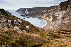 On Dungy Head (Terry Yarrow) Tags: uk light sea england beach canon landscape coast dorset possibles jurassiccoast eos5d dorsetcoastpath stoswaldsbay manowarbay dunghyhead