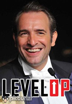 Jean Dujardin takes a Level Up on his acting career as he wins his Oscar.For more Word overlays visit http://www.getpicturizr.com/