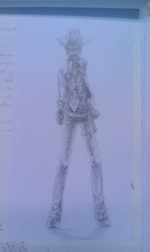 Meeting sketch - Gunslinger