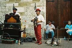 No TV today (maramillo) Tags: maramillo street musician italy analog thechallengefactory music busker scan pregame gamewinner yourock