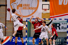 Initia Hasselt vs Kras Volendam BeNeLux Liga FINALE (cedjans) Tags: hasselt nederland belgi vs finale handball volendam limburg liga benelux heren kras handbal initia