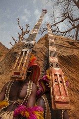 Dogon mask dance, tireli, pays dogon, mali (anthony pappone photographer) Tags: africa niger canon dance mask wide westafrica afrika mali dogon paysdogon grandangolo masque afrique masques maschere bandiagara   dogoncountry sanga  tireli     africantribe