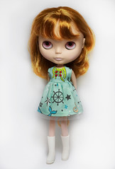The Life Aquatic (prettyinthekitchen) Tags: dress blythe nautical kozy