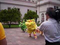 Chan Kam Fai en el Palacio de la Moneda chile