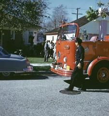 Garage fire in 94