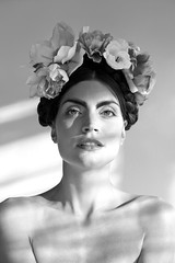 frida (Rodrigo Adonis) Tags: portrait bw beauty photography photographer makeup frida fotgrafo kahlo rodrigoadonis