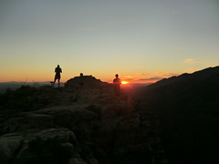 1203 Sunset at the end of the Blackett's Ridge Trail (c.miles) Tags: sunset alison santacatalinamountains blackettsridge danacaraway meganhaigh