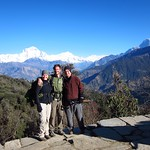 "Us with Dhaulagiri Range <a style=""margin-left:10px; font-size:0.8em;"" href=""http://www.flickr.com/photos/14315427@N00/6989071435/"" target=""_blank"">@flickr</a>"