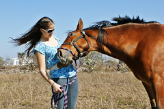 El cariño del caballo (ArmandoH2O) Tags: photoshop retrato victoria h2o armando aguayo