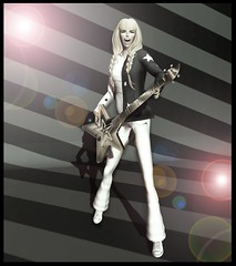 Let it rip! (JessMacHope) Tags: pose photography rockstar guitar chucks cjdesign wasabipills antoinettejordan