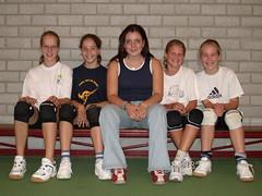 2003 Mini  1 - Tr. Annelies Janssen - Josien, Hanneke, Maaike, Channah