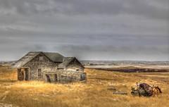 Prairie Treasures (Ken Yuel Photography) Tags: canada saskatchewan tractors grasslands johndeer prairiehomes loverna digitalagent paololivornosfriends kenyuel