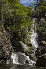 Salmon Creek Falls, Big Sur, CA 2010 (Lone Cypress) Tags: california waterfall bigsur salmoncreek