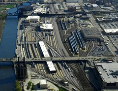 Amtrak & Metra Railyards