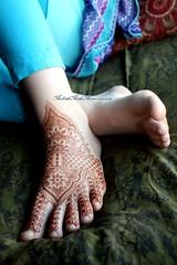 beautiful foot adornment (Mehndi Made Memories) Tags: bridal henna mehendi mehndi mehandi footdesign mehndimadememories lisaseltzer