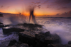 Morning Splash [Explore] (Pandu Adnyana (thanks for 100K views)) Tags: bali beach sunrise indonesia wave manyar