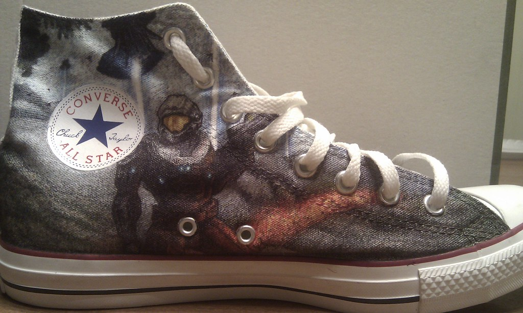 2974201c3764d4 Halo (fallonkeegan) Tags  shoes chief halo master converse sharpie custom  sharpies