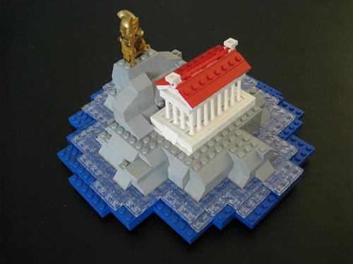 The Wrath of Poseidon (Mountain & Parthenon)