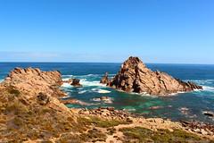 Sugarloaf rock (lewisburnett92) Tags: ocean australia wa geology sugarloaf swell westernaustralia downsouth yallingup roacks sugarloafrock canon650