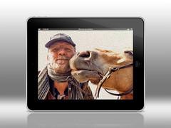 Een mooi schilderij (gill4kleuren - 12 ml views) Tags: horse me sarah fun gill saar paard haflinger sarh