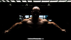 Tim Perry 3 (leelucasphoto) Tags: portrait muscles tim model lift body chest strong biceps gym perry gymnasium fit weights abbs