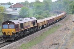 66113.. (marcus.45111) Tags: gm diesel railway primrosehill engineers dbs ballast rotherham 2014 ews networkrail masborough clagg 66113 moderntraction privatisedrailway 6t60