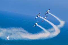 IMG_7090 (xnir) Tags: happy israel telaviv team day force aviation air tel aviv independence t6 aerobatic nir 66th texanii benyosef xnir  idfaf