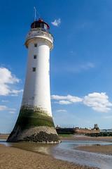 Lighthouse and Fort Perch Rock (grahamkinnear) Tags: new lighthouse rock nikon brighton fort perch d3100