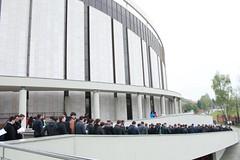 Procesiunea până la Sanctuarul Papei Ioan Paul al II lea (2)