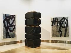 SFO monolith (Frankenstein) Tags: art airport san francisco sfo modernart monolith iphoneography instagramapp