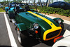 Caterham Seven in classic Lotus colors. (Infinity & Beyond Photography) Tags: auto cars colors lotus 7 seven caterham roadster worldcars