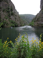 Macedonia (Skopje) Beautiful view of Matka canyon