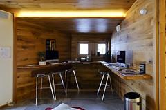 Workstation corner (A. Wee) Tags: france hotel lobby workstation pashmina valthorens   lerefuge
