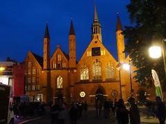 Lbeck altes Hospital (Bephep Y) Tags: reise deutschland norddeutschland hanse hansetag historisch hospital kloster kirche marktplatz lbeck