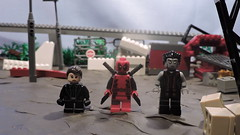 LEGO Deadpool - Colossus and Negasonic (The Brick FORCE !!!) Tags: pictures motion brick film pool century movie dead war force apocalypse x stop civil xmen recreation xavier custom marvel universe 20th colossus youtube proffesor kdl deadpool negasonic