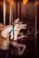 2016100 (gwagwa) Tags: park horse white bokeh voigtlander f22 merrygoround 75mm amusemnt