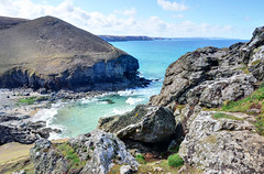 The cove at Chapel Porth, Cornwall (Baz Richardson (due back on 27 May)) Tags: coast cornwall cliffs beaches covers nationaltrust chapelporth
