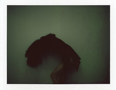 b outside of existence (Ian Allaway) Tags: abstract instant fp100c polaroid600se