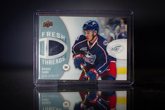 Marko Dano Ice Threads (cdn_jets_cards) Tags: ice winnipeg jets fresh deck upper jersey rc jackets rookie marko threads dano ftmd 201415